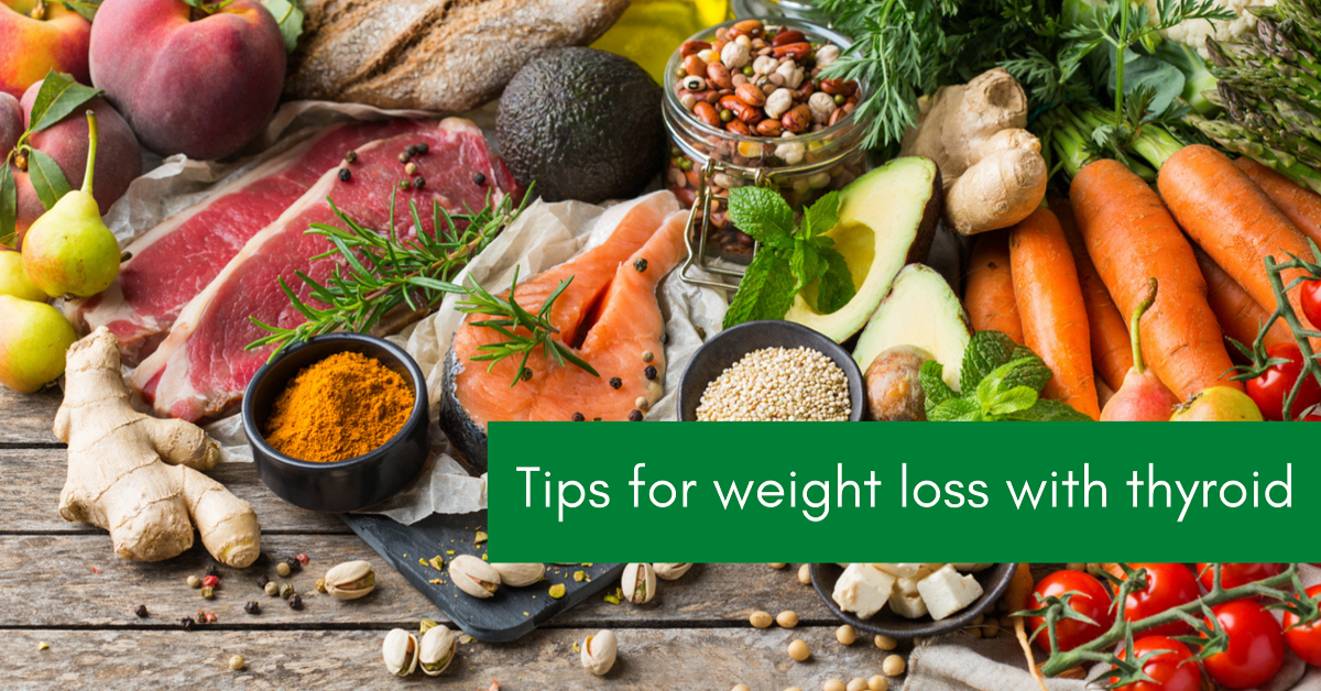Tips for weight loss with thyroid